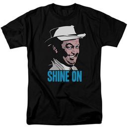 2019 brillar camiseta de moda Andy Griffith Show Ciudad borracho Otis Campbell Shine On Adult T-shirt Todos los tamaños Cool Casual Pride Camiseta Hombre Moda Unisex brillar camiseta de moda baratos