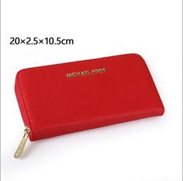scatola elegante del regalo del regalo Sconti Portafoglio a mano HOT portafoglio di alta qualità in pelle da uomo e donna di lusso portafogli da donna frizione borsa della moneta da uomo