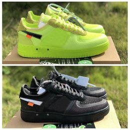 2019 nuevas llegadas fuerzas voltios corriendo zapatos mujer Mens Trainers obligado uno deportes Skateboard - 1 verde blanco negro guerrero Sneakers desde fabricantes
