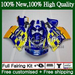 Le scarpe blu di srad online-Body Blue GSXR-600 per SUZUKI SRAD GSXR600 1996 1997 1998 1999 2000 5LQ26 GSX R600 GSXR750 GSXR 750 600 96 97 98 99 00 Carenatura Carena