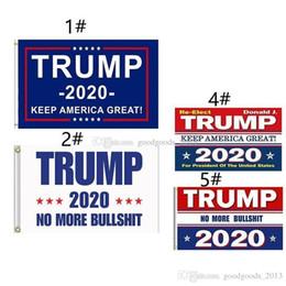 parches de engranajes tácticos Rebajas 90 * 150cm Bandera Trump 2020 Bandera Donald Trump Keep America Great Donald para Presidente USA-1 Banderas Bandera K298