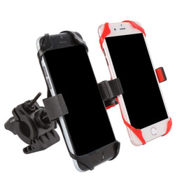 красный m мобильный Скидка Велосипедная сумка для мобильного телефона Поддержка Велосипед Мотоцикл Держатель для руля dsrn (с 1 красным 1 черным силиконовым чехлом) # 204961