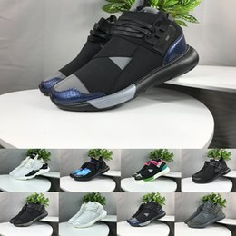 30c6ea7e55d92 Discount y3 qasa shoes - New Y-3 QASA RACER Sneakers Breathable Men Women  Casual