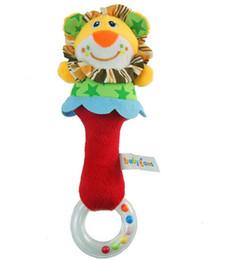 Baby toy animal molar stick baby sonaglio bambola STICK bambino appena nato STICK BELL lion BY thefound da confezioni per animali domestici fornitori