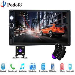 2019 pantalla táctil coche audio chino dvd del coche Podofo 2 Din Car Audio 7