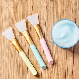 Masque en silicone Brosse visage Masque Boue Outil de mélange Soins de la peau Beauté Maquillage Pinceaux Visage Fondation Outils Maquiagem ? partir de fabricateur