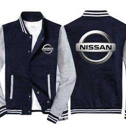 uniforme Uomini Baseball per auto Logo stampa casuale di Hip Hop Harajuku Warm Jacket Felpe Mens Baseball Slim Fit Unisex da ginocchiere in nylon fornitori