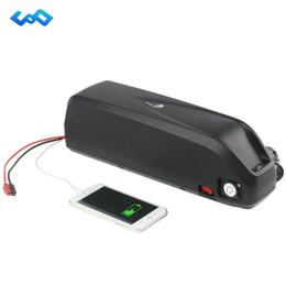 Ebike 36v bateria li ion on-line-Bicicleta elétrica 52 V 36 V 48 V 16Ah 13AH 10AH 15AH 17.5AH 20AH Hailong tubarão Li-ion Bateria para Bafang BBS02 BBSHD Tongsheng Ebike