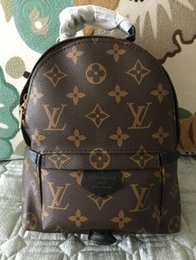 3A haute qualité meilleur prix! Original Design Véritable mini femme en cuir sac enfants sac à dos luxe célèbre mode Springs Palm ? partir de fabricateur