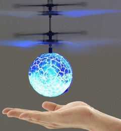 rc fly ball Coupons - Free DHL RC Flying Ball Helicopter Toys Colorful LED Light Remote Control Drone Electronic Induction Aircraft Kids Toy Christmas Gift