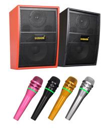amplificador de teléfono celular Rebajas UHF Micrófono inalámbrico Bluetooth B9 Integrar en el amplificador de potencia del altavoz para el sistema de cine en casa Reproductor de DVD barra de sonido del teléfono celular