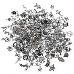 2019 colar de prata âncora colar 200 pcs misto tibetano prata tom de âncora animal charme pingentes para pulseira colar de jóias acessórios de jóias diy fazendo colar de prata âncora colar barato