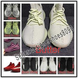 Cordones yeezy online-Designer shoes adidas yeezy boost 350 V2 men's women estático reflectante de encaje para mujer zapatos para hombre zapatillas de deporte de arcilla hiperespacio Trfrm tinte azul