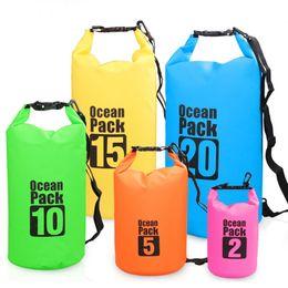 Argentina Bolsa seca de equipo táctico de PVC para natación a la deriva Mochilas tácticas Bolsa impermeable de viaje Unisex Almacenamiento de playa Paquetes de cintura táctica Suministro