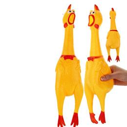 Novelty funny adult toys en Ligne-Crier Nouveauté Poulet Gag Jouets Vent Jeux Tricky Enfants Et Adultes Créatif Excentrique Drôle 17cm 0 95yl F1