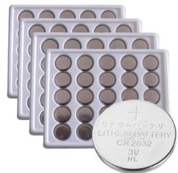 v orologi Sconti 100 pz 2032 CR2032 3 V 220 mAh agli ioni di litio pulsante moneta batteria in massa per gli orologi, batteria al litio all'ingrosso batteria alcalina