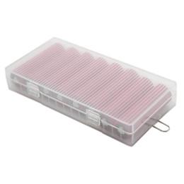 2019 suportes de bateria de plástico baterias pacote plástico recipiente de armazenamento portátil de bateria titular caso de segurança de alta qualidade armazenamento de contentores para 8 * 18650 cover desconto suportes de bateria de plástico