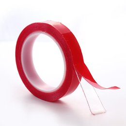 2019 klebeplatte 3m transparentes doppelseitiges Klebeband klares Acrylband nahtloses Klebeband hitzebeständiger starker Kleber entfernbarer wasserdichter 12mm 15mm 20mm