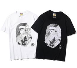 2019 модные новые футболки с короткими рукавами для мужчин и женщин Классический комикс с изображением дракона cheap comic print shorts от Поставщики шорты для комиксов