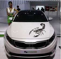 2019 decalcomanie autoadesive auto 30CM Carino 3D Scorpion adesivi per auto Auto-styling Abarth Vinyl Decal Sticker per auto Decorazione Automobili Moto Accessorie decalcomanie autoadesive auto economici