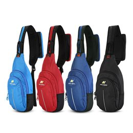 piccoli borse universitari Sconti NEVO RHINO Sling Backpack Shoulder Chest Borsa a tracolla Outdoor Escursioni Small Daypack borse di lusso di design borse