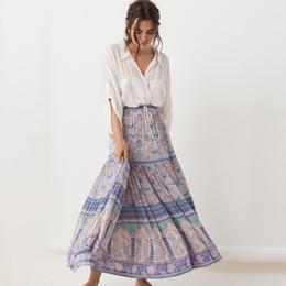 4a031e0db Distribuidores de descuento Faldas Largas Bohemias Para Mujer ...