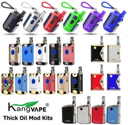 Kit mini box mod online-Autentico Kangvape TH710 TH-710 TH420 V1 TH-420 II V2 Mini 420 K Kit mod box con cartuccia ceramica coils da 0,5 ml 100% originale
