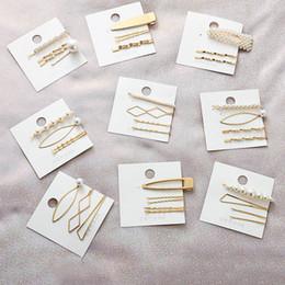 Ins Moda Niñas Pinzas Para el Cabello perla Niños Pinzas Para el Cabello niños Barrettes Niñas pinzas de pelo accesorios para el cabello para las mujeres Barrettes A3727 desde fabricantes