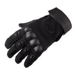 2019 guanti meccanici xl Guanti Moda-tattico sport esterni dell'esercito Full Finger combattimento Moto antiscivolo in fibra di carbonio guscio di testuggine Guanti CNY1068