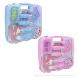 Canada Médecin des enfants infirmière cavité buccale petits dentistes chaque maison jouet set simulation stéthoscope trousse médicale valise Offre