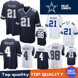 2829276c5e3 Best 4 Dak Prescott 19 Amari Cooper Dallas Cowboys Jersey 21 Ezekiel  Elliott 55 Leighton Vander Esch 82 Jason Witte 88 Dez Bryant Stitched