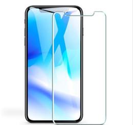 Защита экрана онлайн-Для нового Iphone XR XS MAX 8PLUS X закаленное стекло-Экран протектор для iPhone 6 S Plus Screen clear film protection