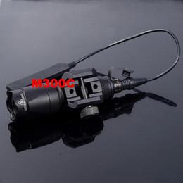 SEIGNEER Tactical M300C Weapon Light Constante et Momentané Scout Lumière Chasse Lampe de Poche Fit 20mm Pictinny Rail pour Chasse ? partir de fabricateur