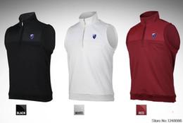 Куртка для гольфа, ветрозащитный жилет, дышащая молния, мужская жилетка, утепленная мужская утепленная спортивная одежда, защищающая от морщин, приветствует оптовиков, желающих приобрести от
