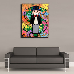 2019 dipinti jesus christ Pittura Alec Monopoly -11,1 Pezzi Canvas Prints arte a olio Home Decor (Unframed / Framed) 16x20.