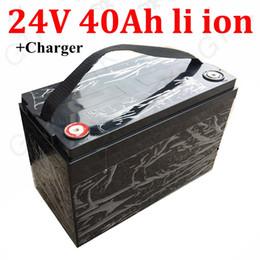 GTK 24v 40ah batterie lithium-ion 24v li 18650 BMS 7S pour bateaux électriques 1000W E-scooters voiturettes de golf buggy + chargeur 5A ? partir de fabricateur