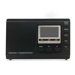 Canada Portable Mini Radio Stéréo Récepteur Numérique Réveil Numérique Récepteur de Musique Lecteur MP3 Offre