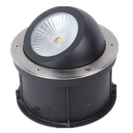 Argentina (10pcs / lot) Lámpara de luz de cubierta regulable con ángulo de empuñadura 15W 20W 25W 30W regulable, empotrada LED enterrada COB subterránea Suministro