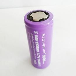 Alta qualidade 26650 bateria de lítio 3.7 v capacidade real 5000 mah venda direta da fábrica de Fornecedores de levou 24v impermeável