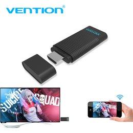 Adaptateur d'affichage Vention 5G sans fil HDMI WiFi, partage d'écran pour ordinateur portable, émetteur-récepteur, clé Smart TV, pour projecteur IOS ? partir de fabricateur