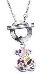 Nuova collana dei pendenti dell'acciaio inossidabile di modo migliore la collana di marca dei monili del collane del progettista per le donne N10-3 da collana di platino contorta fornitori