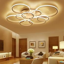 Surface mounted modern led ceiling lights for living room Bed room light White Brown plafondlamp home lighting led Ceiling Lamp da