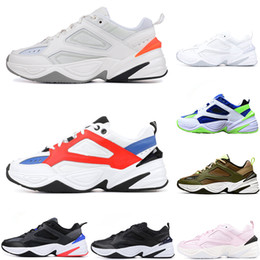 2019 zapatos al por mayor de los deportes de los instructores M2K Tekno Venta al por mayor M2K Tekno Old sport zapatillas para hombres mujeres zapatillas de deporte atléticas entrenadores profesionales al aire libre zapatos de diseño envío gratis rebajas zapatos al por mayor de los deportes de los instructores