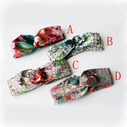 Tiras de seda para mulheres on-line-Mais novo designer de cabelo de seda bandas de cabelo para as mulheres marca de moda headbands melhor qualidade para o presente de 4 estilos