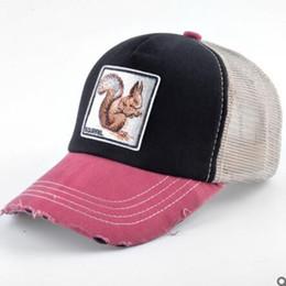 ADK Filles Garçons Snapback Coton Animaux Broderie Motif Caps Marque 2018 Automne Eté Accessoire Loisirs Baseball Caps ? partir de fabricateur