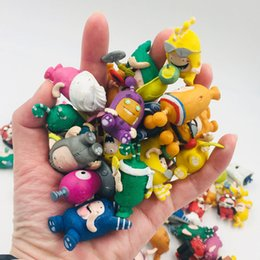 Soldados de brinquedo grandes on-line-2019 Hottest Treasure of soldiers ODDBODS Bonecas Dos Desenhos Animados Figuras brinquedos para crianças grandes 4 cm Anime Manga Bonecas figuras de Ação DHL Livre
