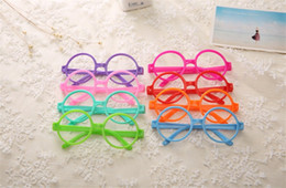 c64ccbe514 Kids Fashion Sunglasses Frames Lovely Children Round Spectacle Frames  Colorful Vogue Optical Frames Uinsex Decorative Eye Glasses Frame