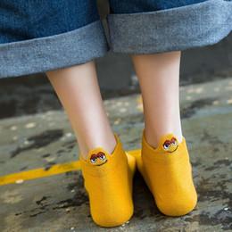 2019 karikatur gesichter knöchelsocken Frauen Socken Ferse mit Cartoon Gesicht Unisex Low Cut Söckchen Männer Frauen Short Sock Paar Unsichtbare süße Mode günstig karikatur gesichter knöchelsocken