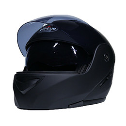 modular helmet visor Coupons - Dual Visor Motorcycle Modular Helmet FULL Open Face Motorcross Road Bike Scooter