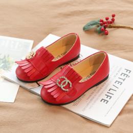 a9bcf3c5c5 2019 escola garota sapatos branco Moda menina sapatos de couro versão  Coreana princesa estudante da Escola